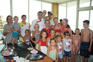 Cake course in mini club