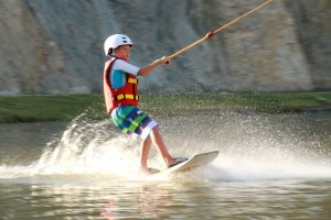 Wakeboard riders
