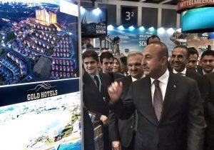Sayın Mevlüt Çavuşoğlu fuarda bulunan standımızı onurlandırdı