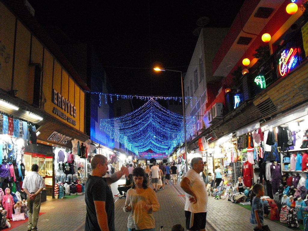 Alanya city center halal holidays turkey
