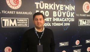 Aydoğan A.Ş. Türkiye'nin 500 büyük hizmet ihracatçısı listesinde